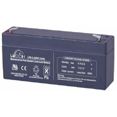 6V 3,2Ah akkumulátor